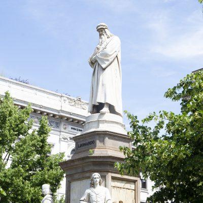 Milaan City Walk ciao tutti Nederlandstalig Da Vinci